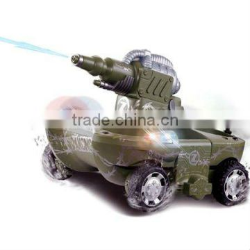 RC Amphibious Tank Shooting Water Car