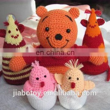 Hand Knitted Toys 100% pure Crochet knit Toys and Dolls Manufacture wholsale price
