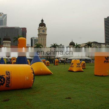 Inflatable Paintball Bunker arctic bunker inflatable snow fort