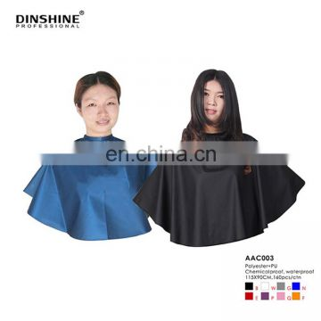Waterproof Cape For make up short cape for hair salon