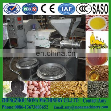 Stainless steel cold pressing machine /oil extractor/twin-screw oil press for sale