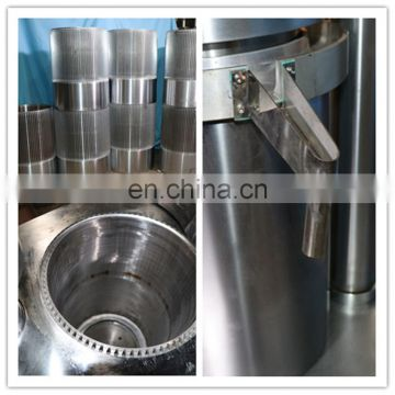 Alloy Hydraulic  oil mill walnut rapeseed pressing oil press machine