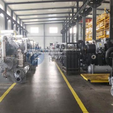 water cooled scroll type chiller