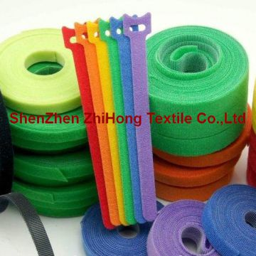 Loop Strap Fastener Customized Elastic Hook And Loop Straps