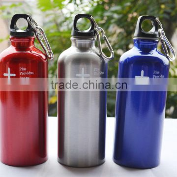 Pantone color OEM welcomed cheap price aluminum sports water bottle