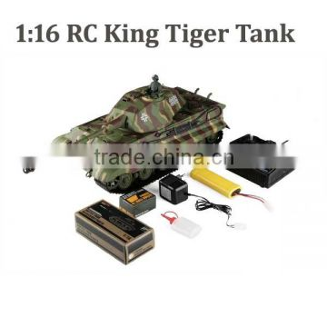 1:16 rc king tiger tank