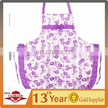 Customized cotton lovely apron