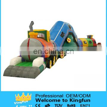 Kids inflatable obstacle tunnel /inflatable attractive toys