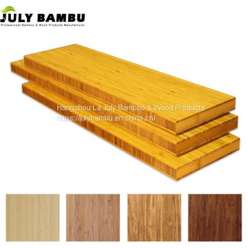 2450x650x38mm 3 Ply Laminated Kitchen Bamboo Wood Countertops Worktops