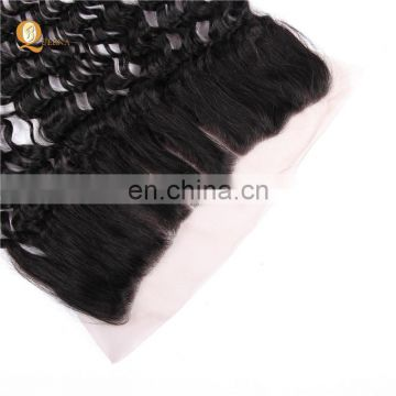 lace frontal closure 13x4 Jerry curly remy hair cheap closure hair piece