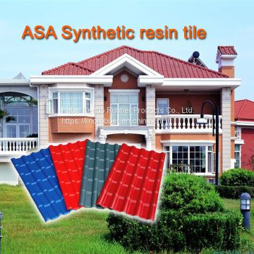 ASA Synthetic Resin Residential Roofing Tile