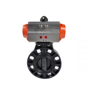 Upvc Pulp Paper Air Butterfly Valve