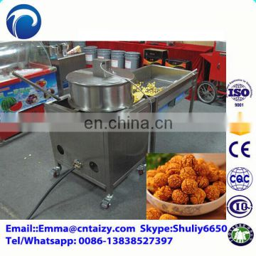 Caramel popcorn machine Industrial caramel coating popcorn making machine Kettle popcorn machine