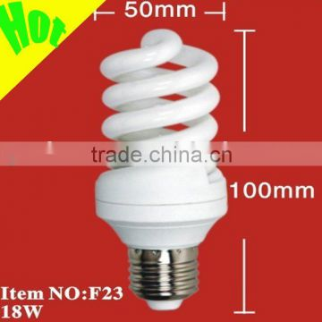 14w-36w full spiral energy saving lamp(milky light)