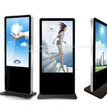 KUANBO 43inch ipad standing lcd display, ad floor standing lcd media display with high quality