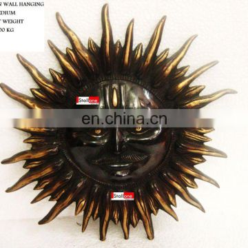 BRONZE SUN WALL HANGING MEDIUM