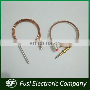 Safety thermocouple for gas cooker