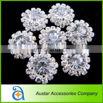 Bulk Cyrstal Rhinestone Button For Wedding Invitation Card