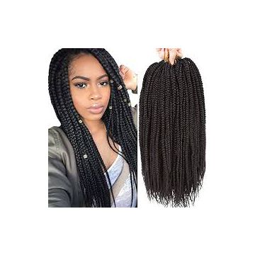 Natural Curl Bright Color No Lice Synthetic Hair Extensions 14 Inch Long Lasting