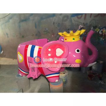Zhongshan amusement playground kids rides for sale Elephant King rotating