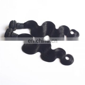 Real natural body wave human hair weave 100% virgin indian hair extension