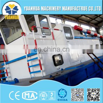 cutter suction dredger for gold mining