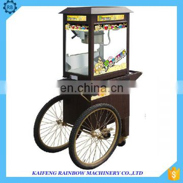High Efficiency New Design Popcorn Maker Machine Good Reputation Supplying Heavy Duty Commercial Industrial Popcorn Making Machi