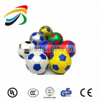 Hot Sale Candy Colour Soccer Ball Playing Toy Kid Inflatable Football                                                                         Quality Choice