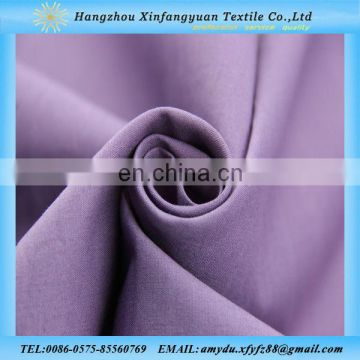 new design plain dyed violet 97 cotton spandex poplin fabric