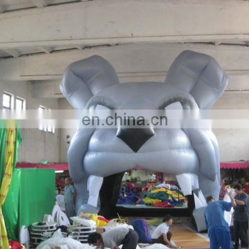popular printed inflatable entrance tunnel,inflatable mascot tunnels of dog