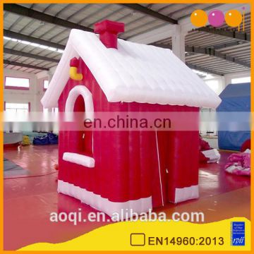 2015 new design hottest Christmas party decoration inflatable house for sale