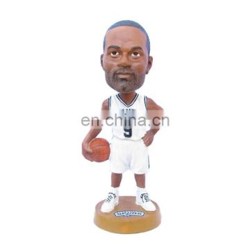 custom polyresin basketball players figures