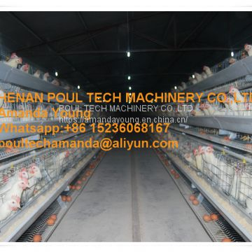 Indonesia Chicken Supplier Chicken Shed Hot Galvanized Layer Cage & A Type Battery Breeder Layer Chicken Cage & Breeding Layer Egg Coop for Poultry Farm