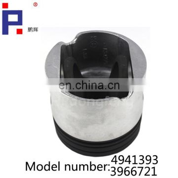 Dongfeng truck engine parts ISLe piston 4941393 for ISLe diesel engine
