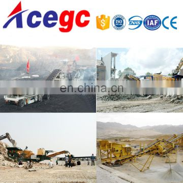 Mobile crushing plant,movable crusher machine,vibrating gravel/sand building material classier