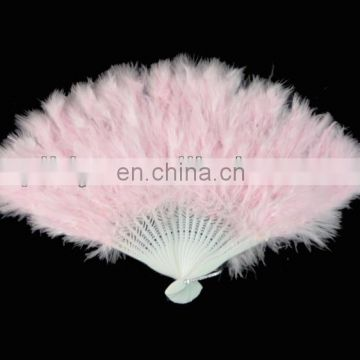 wholesale decorative feather fans