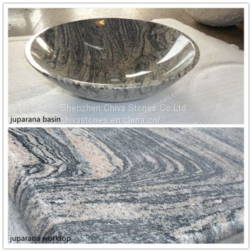 Juparana light Multicolor Granite Cheap Natural Color Granite for countertop China Quarry