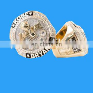 Hot sell basketball fans ring Championship Replica Ring for Bastketball fans gift