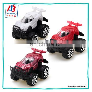 Toy vehicle painting plastic mini pull back race car toys for child