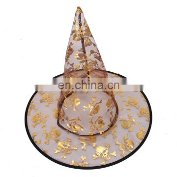 factory promotion 24 types organza foam party hat construction paper witch hat
