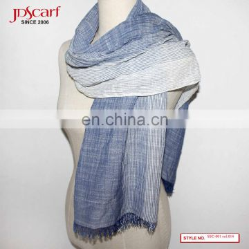 50% cotton 50% viscose hijab fashionable summer spring cotton scarf
