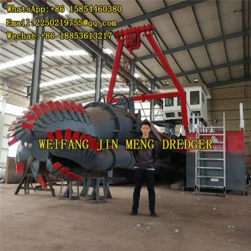 Hydraulic River Sand Cleaning Cutter Suction Dredger Land Reclamation
