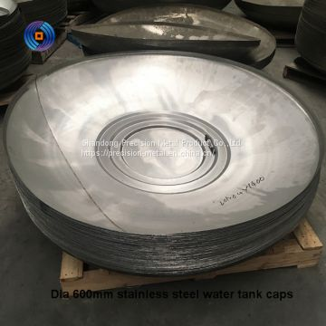 Carbon steel hemispherical head for pressure vessel