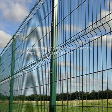 Heavy Gauge Powder Or PVC Coated Galvanized Welded Wire Mesh Fence For Sale