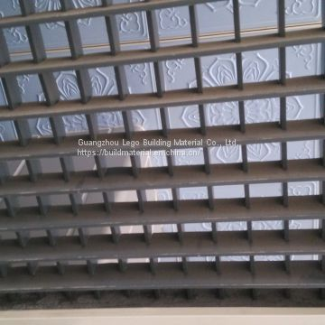 Square Tube Aluminum Grille Ceiling Aluminum Grille Lattice