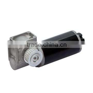 63ZY127-63WJ Hollow Shaft DC Worm Gear Motor with Hall Effect Sensor 20nm