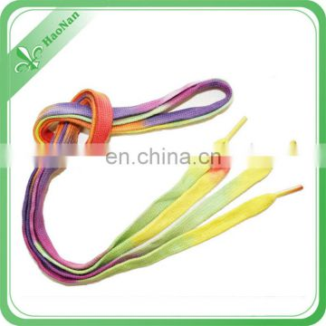 Factory design shoelace with sublimation for sport shoe