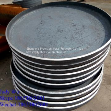 304 stainless steel Flat Flanged Head forged boiler part bottom cover