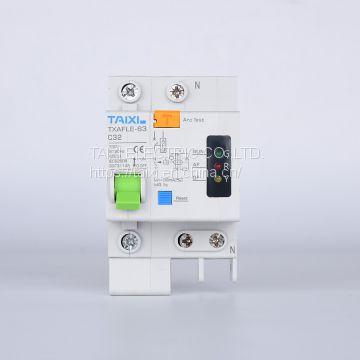 TXAFCI-63 Arc Fault Circuit Interrupter AFDD Fault Arc Detector circuit  breaker