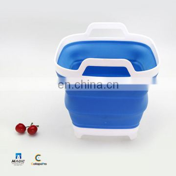 6L Collapsible Plastic Bucket